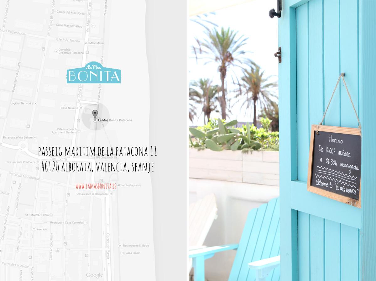 Hotspots van Valencia La Mas Bonita