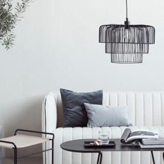 Metalen plafonlamp