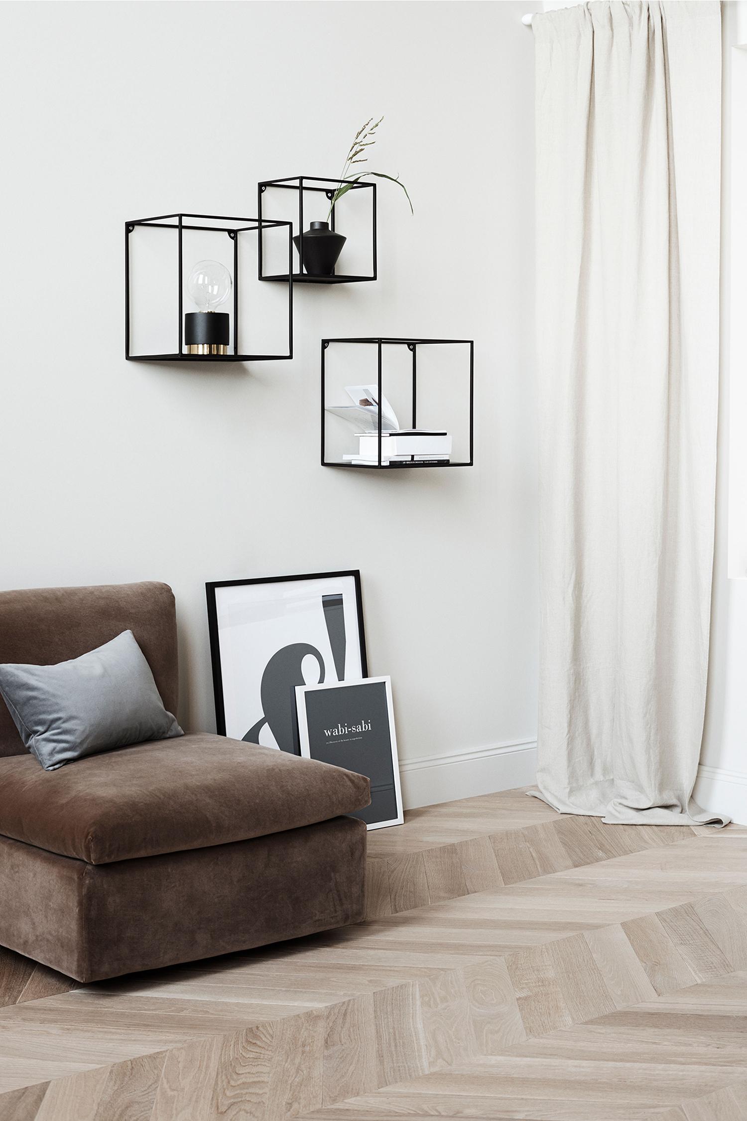 H&M meubelcollectie Groot, metalen wandrek
