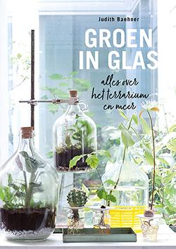 plantenboeken groen in glas
