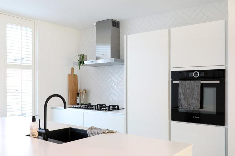 visgraat tegels keuken